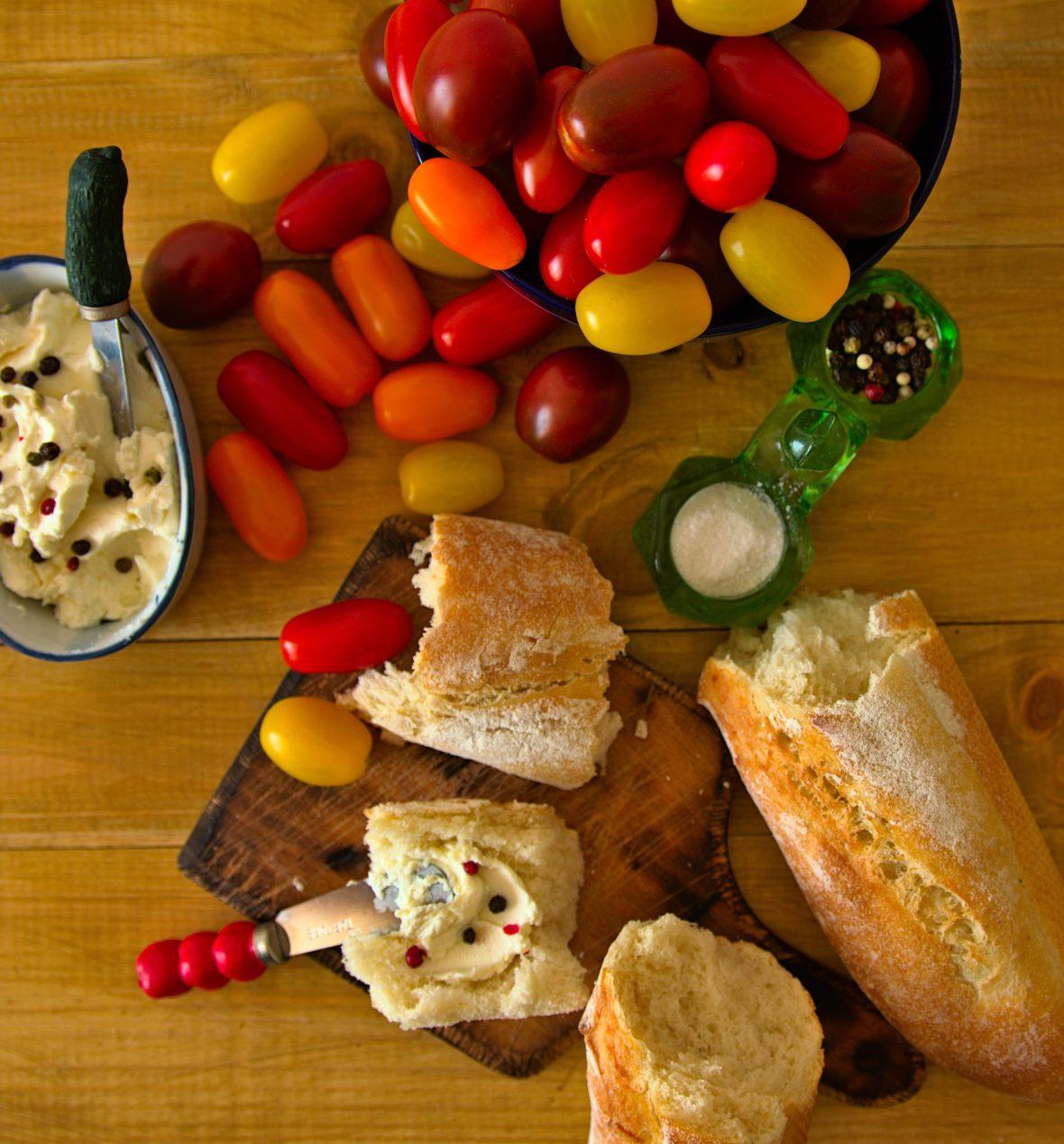 Recette de tartines de légumes